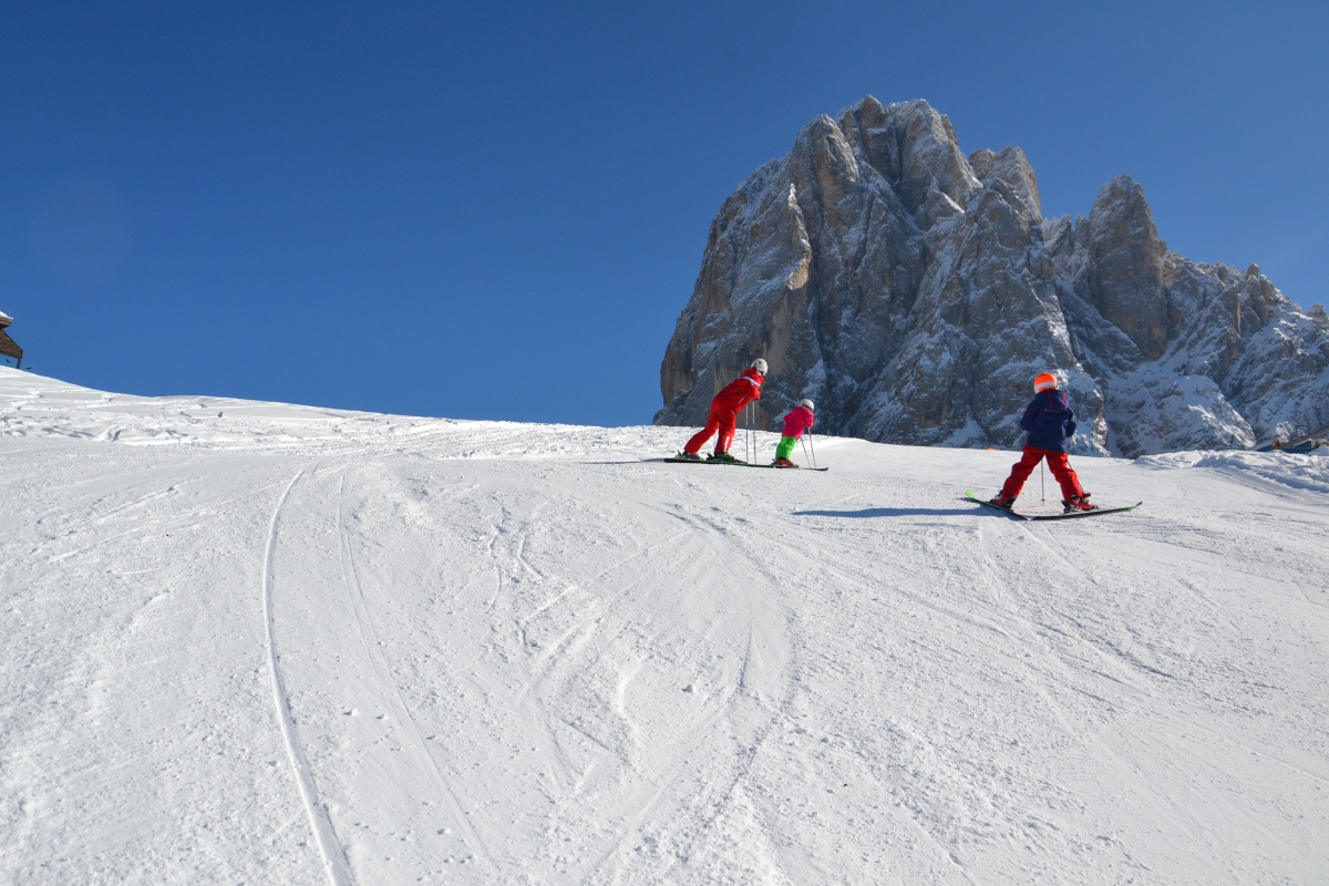 Winter in Val Gardena